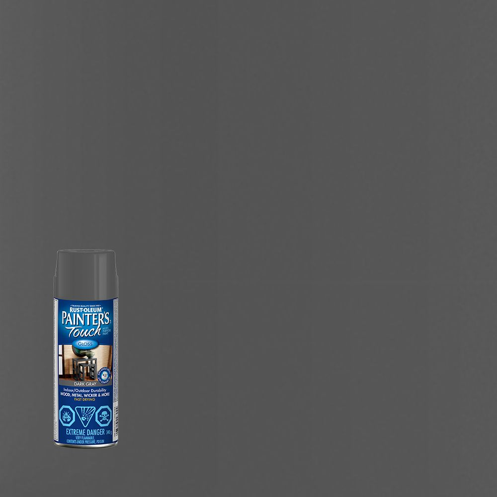 Painter's Touch Multi-Purpose Paint - Dark Gray (340g Aerosol)