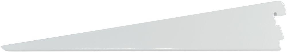 11.5 Inch White Twin Track Bracket