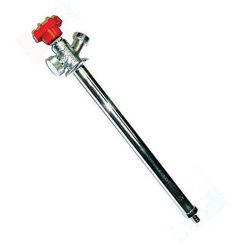 Pex Ready 12 Inch Wall Hydrant 1/2 Inch Pex With Vacuum Breaker
