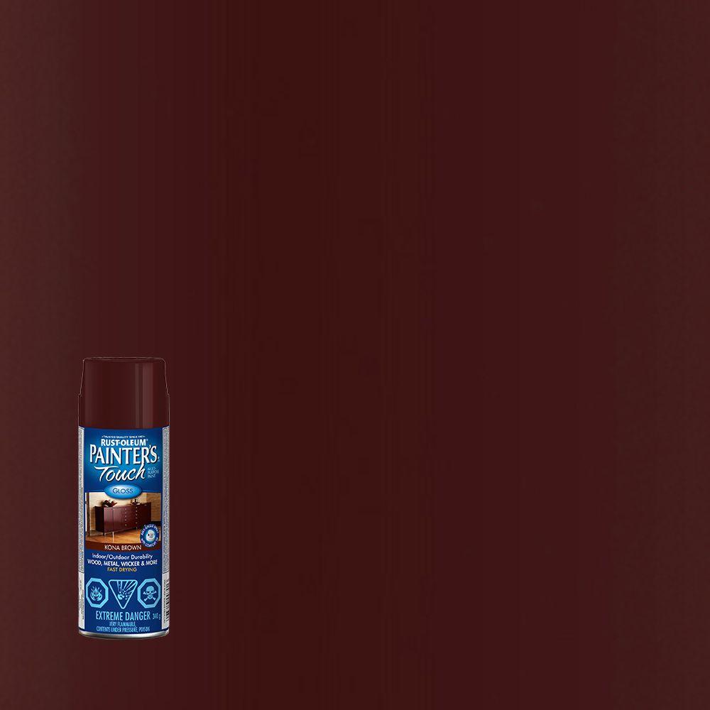 Rust-Oleum Painter's Touch Multi-Purpose Paint - Kona Brown (340g Aerosol)