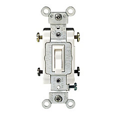 Leviton Way Toggle Switch White The Home Depot Canada - 4 way dimmer switch leviton