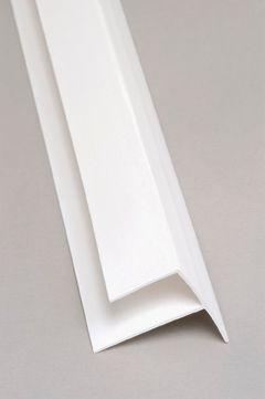 Outside Corner PVC White Moulding 8 Ft.