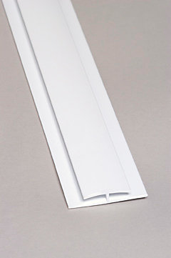 Exceliner Divider Bar Pvc White Moulding 8 Ft