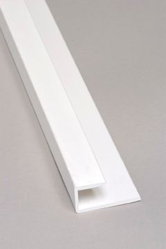 End Cap PVC White Moulding 8 Ft.