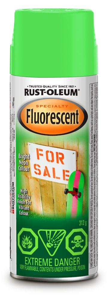Rust-Oleum Fluorescent - Green (312g Aerosol)