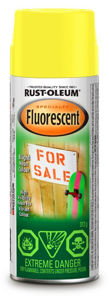 Rust-Oleum Fluorescent  - Yellow (312g Aerosol)