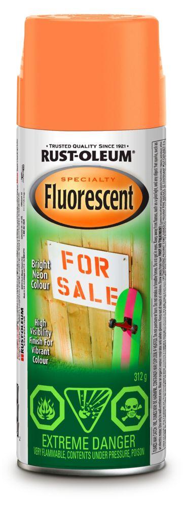 Rust-Oleum Fluorescent  - Orange (312g Aerosol)