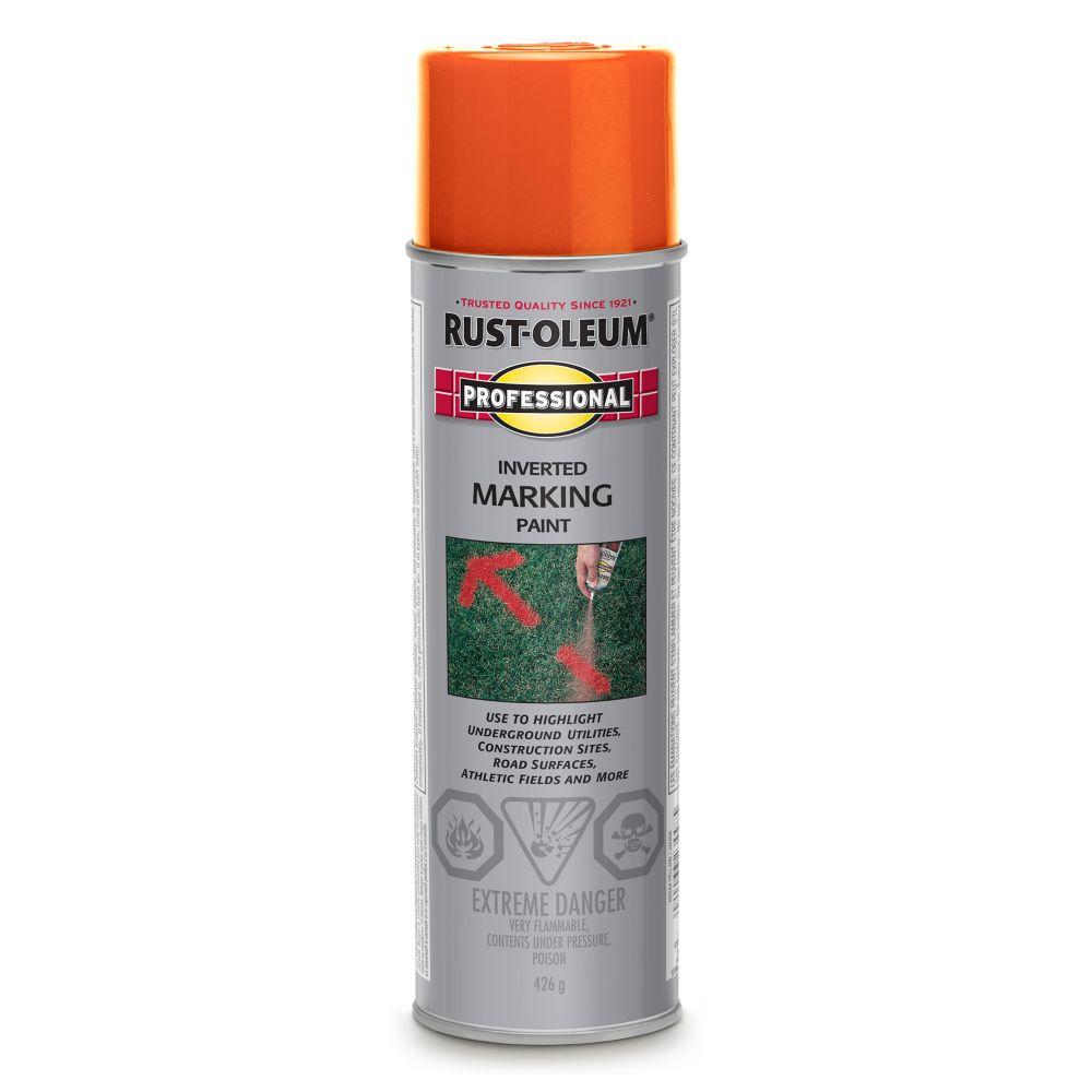Inverted Marking Paint - Fluorescent Red-Orange (426g)