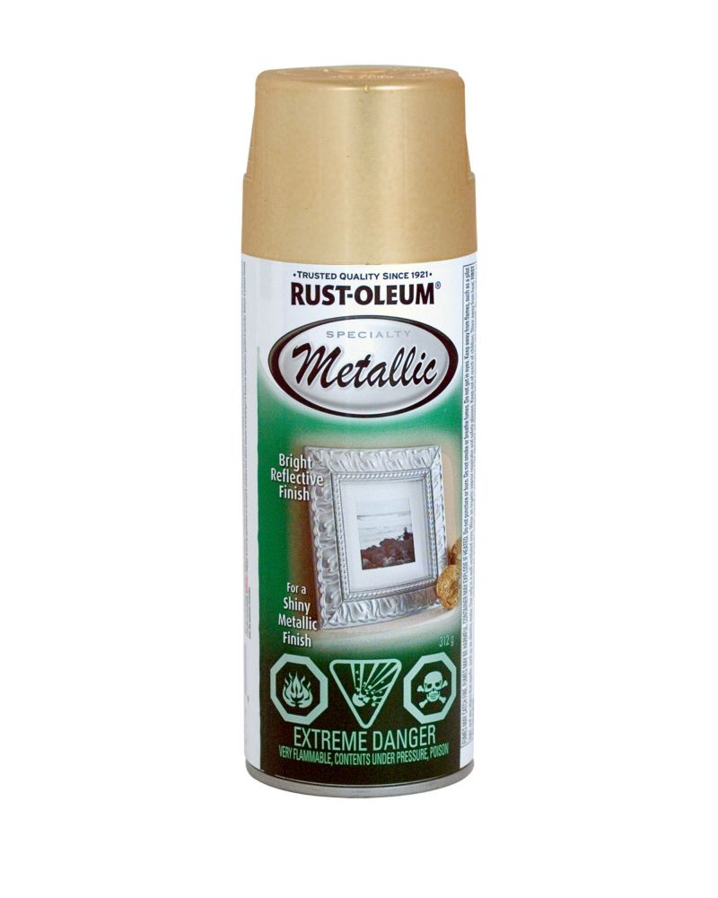 Metallic Finish - Gold (312g Aerosol) N1910 830 Canada Discount