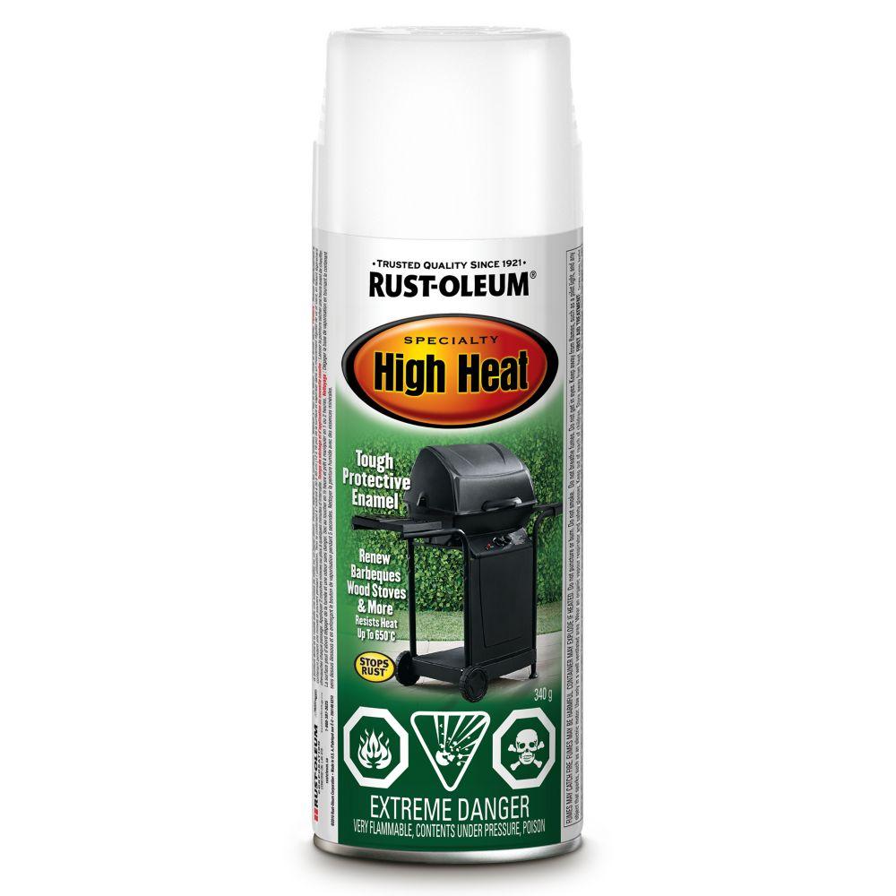 Rust-Oleum High Heat - Heat Resistant White (340g Aerosol)