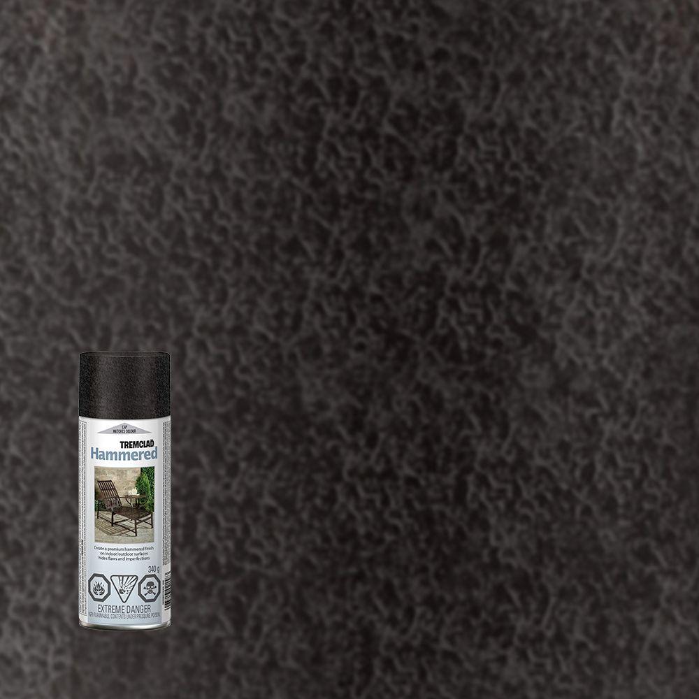 Fini martelé - Noir (aerosol)