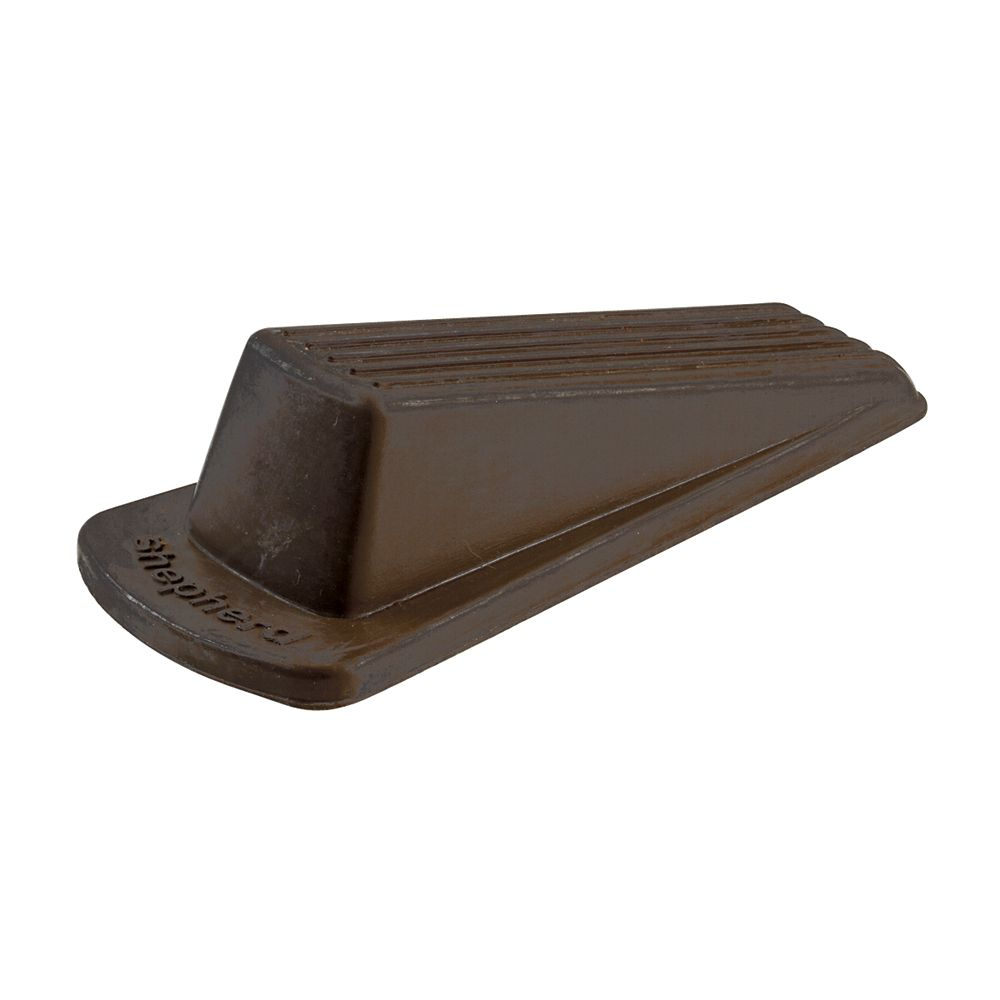 Heavy Duty Brown Rubber Door Stop