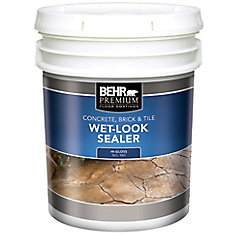 BEHR PREMIUM Concrete, Brick & Tile Wet-Look Sealer, High-Gloss - 18.9 L
