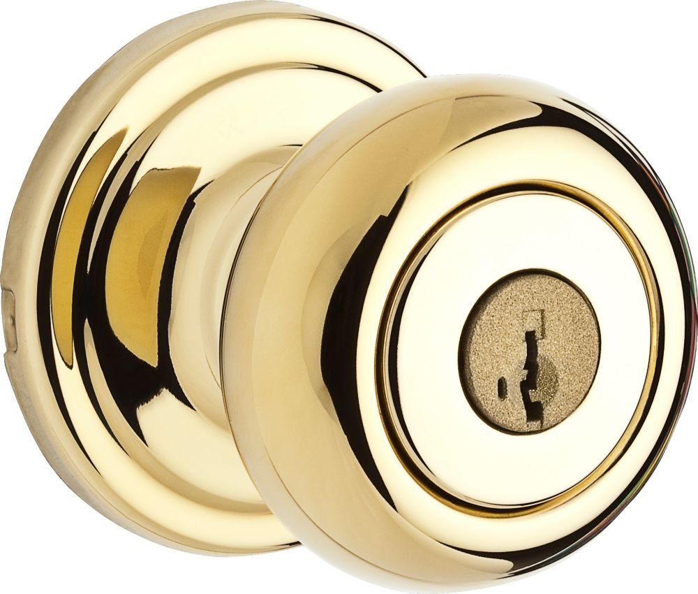 Troy Brass Keyed Knob