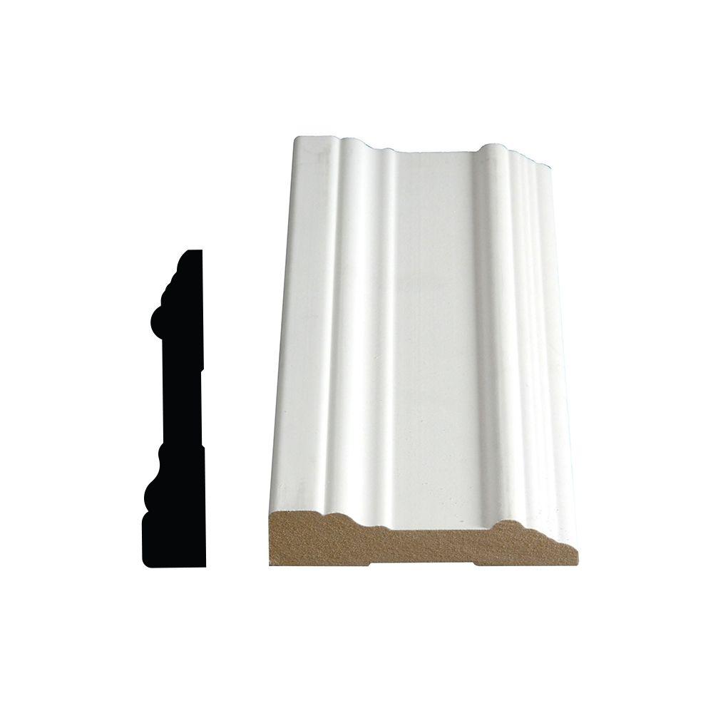 Primed Fibreboard Colonial Casing 3/4 In. x 3-1/2 In. (Price per linear foot)