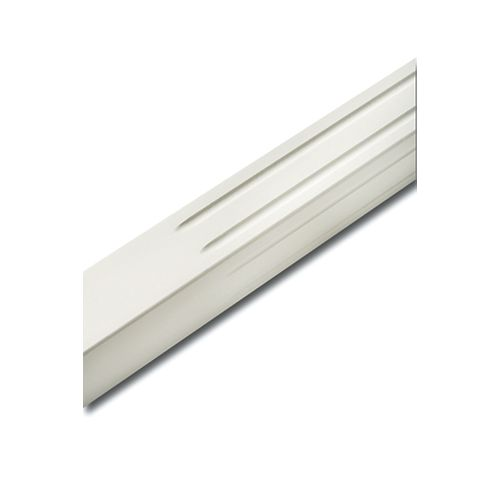 Alexandria Moulding 1 1/2-inch x 1 1/2-inch x 32-inch White Lacquered Primed Square Fluted Baluster