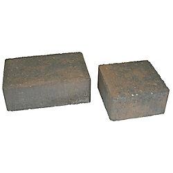 Cindercrete Cobblestone Paver Set- Tan/Charcoal