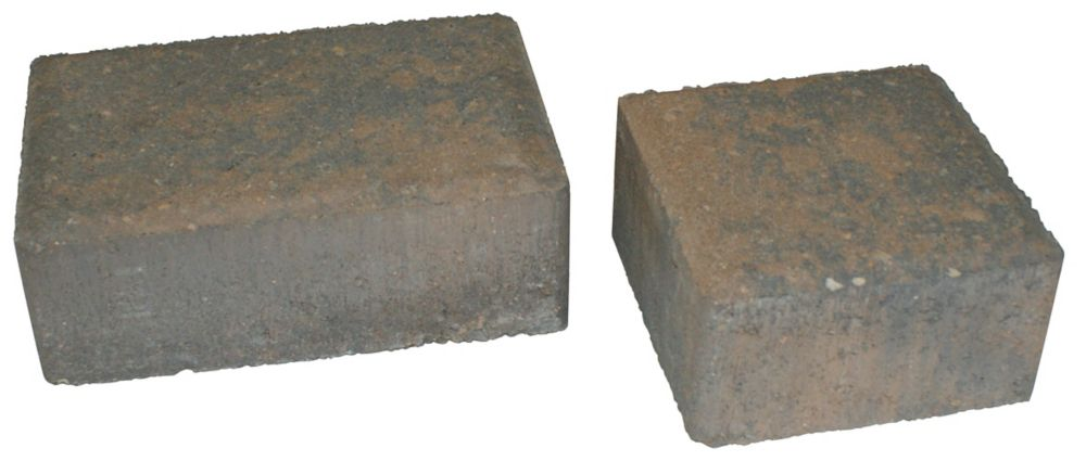 Cobblestone Paver Set - Tan/Charcoal