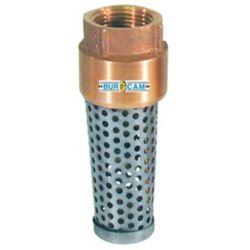 Bur-Cam 1-1/4-inch Bronze Foot Valve
