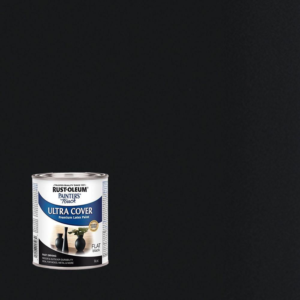 Painter's Touch Multi-Purpose Paint - Flat Black (946ml)