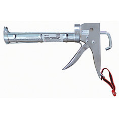 9 Inch Chrome Plated Caulking Gun