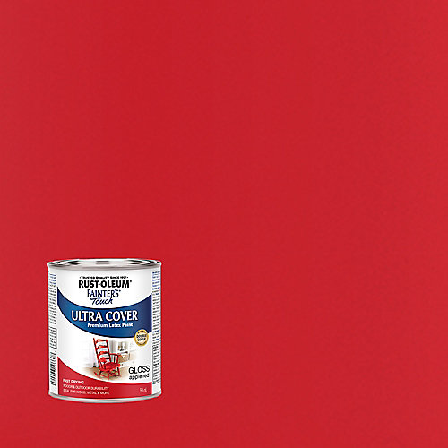 Painter's Touch Multi Purpose Paint In Gloss Apple Red, 946 mL