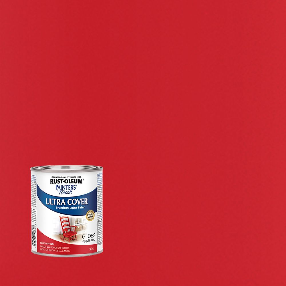 Rust-Oleum Painter's Touch Multi-Purpose Paint - Apple Red (946ml)