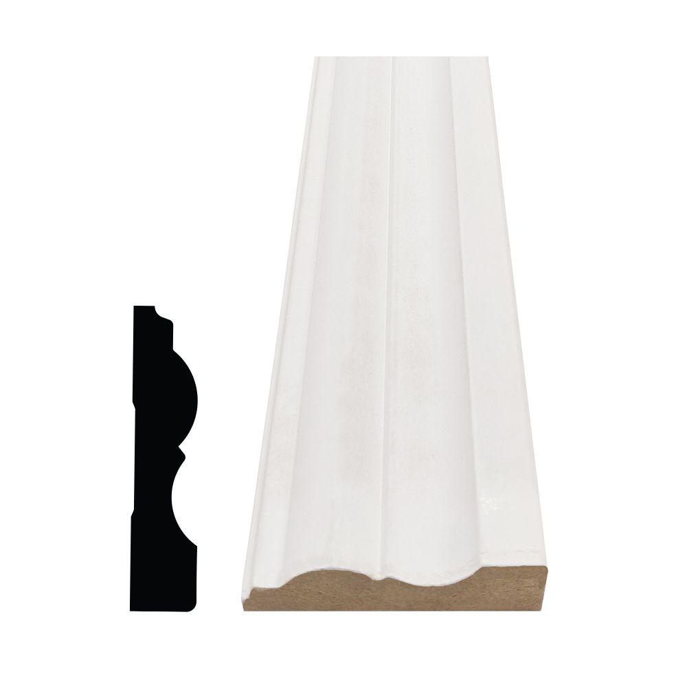 Primed Fibreboard Colonial Casing 3/4 In. x 3-1/4 In. (Price per linear foot)
