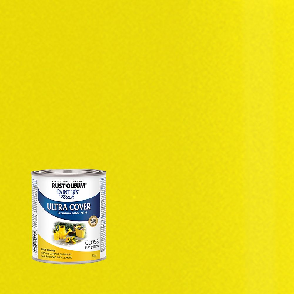 Painter's Touch Multi-Purpose Paint - Sun Yellow (946ml)
