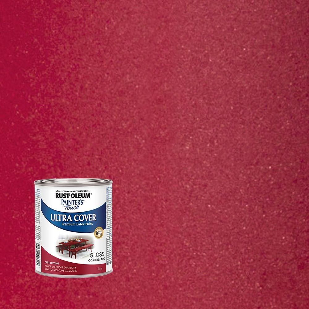 Painter's Touch Multi-Purpose Paint - Colonial Red (946ml)
