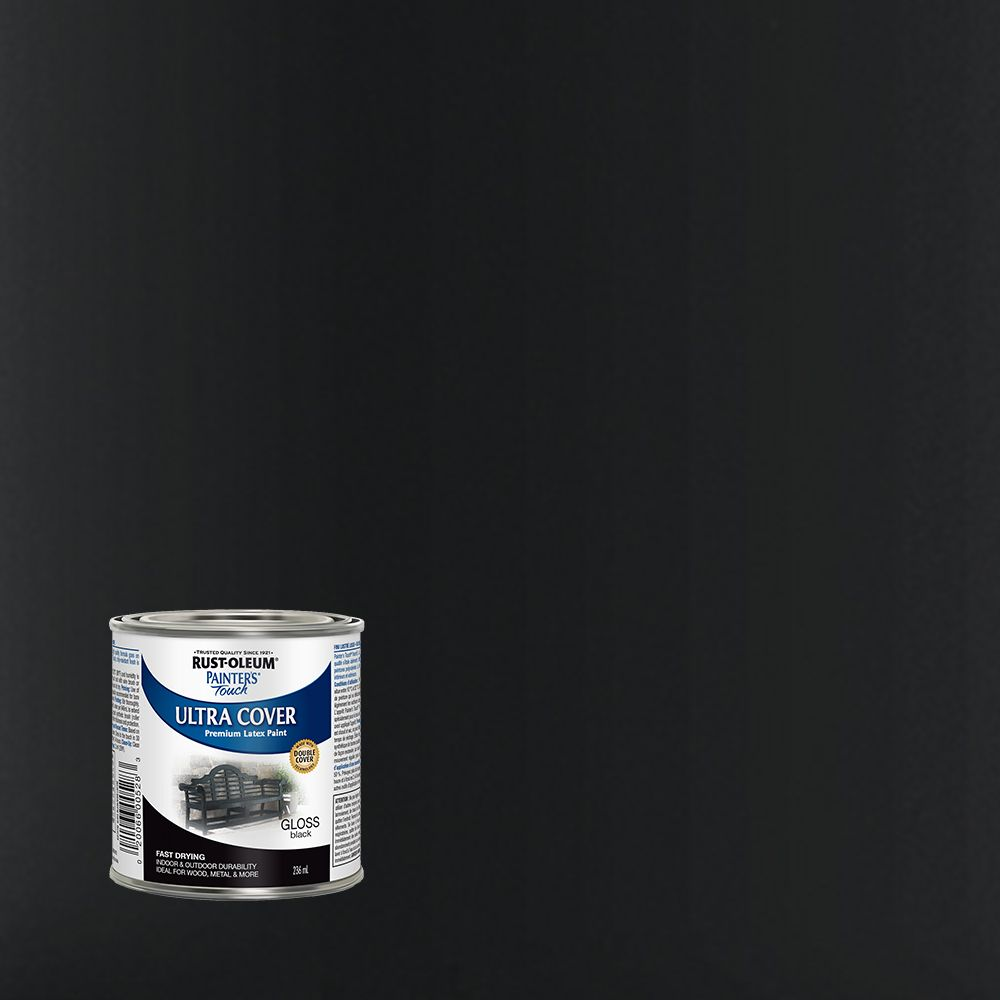 Painter'S Touch Gloss Black 236Ml