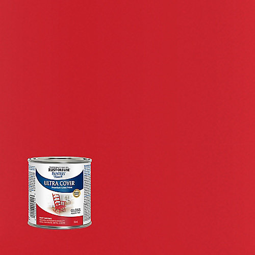 Painter's Touch Multi Purpose Paint In Gloss Apple Red, 236 mL