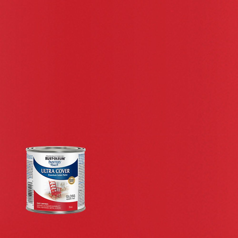 Painter's Touch Multi-Purpose Paint - Apple Red (236ml)