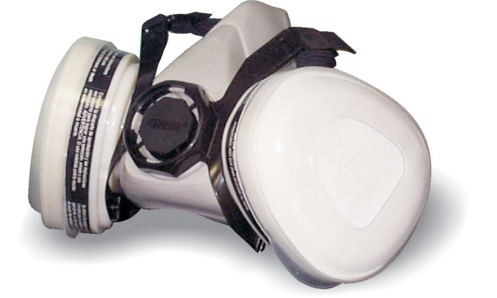 Paint and Pesticide Respirator With Cartridge