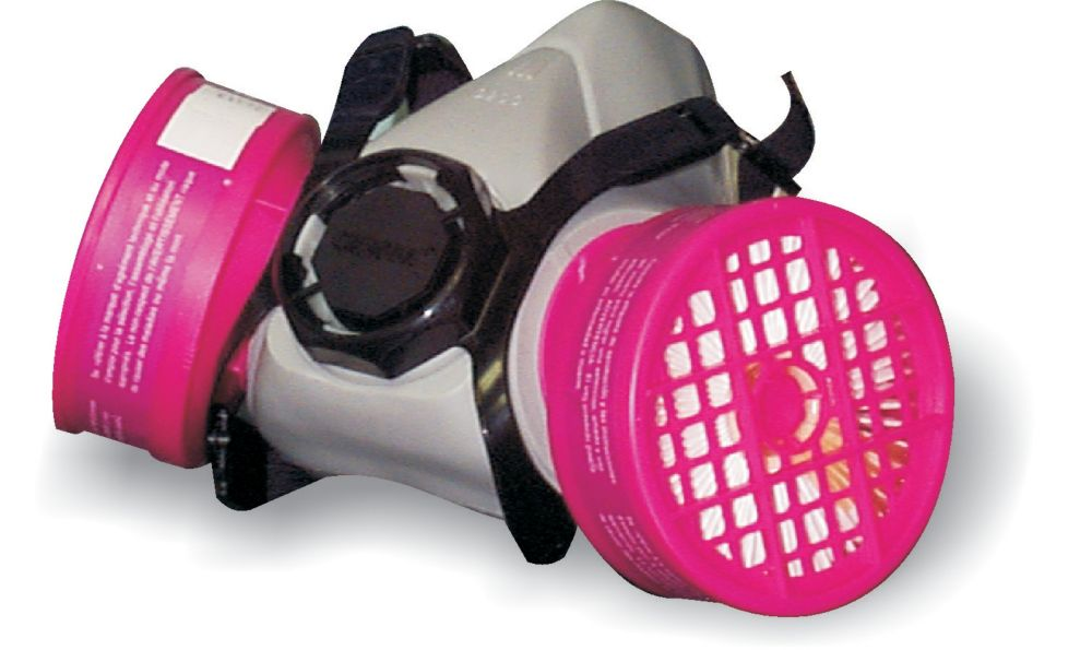 Workhorse Asbestos and lead respirator with cartridge