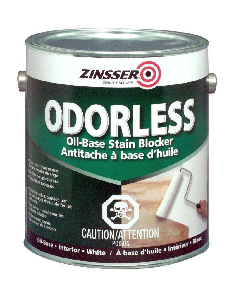 Bulls Eye Odorless - Apprêt Et Scellant Tout-Usage À Base DHuile