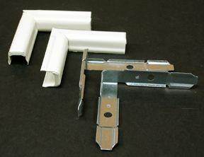 Twist Elbow Metal Ivory