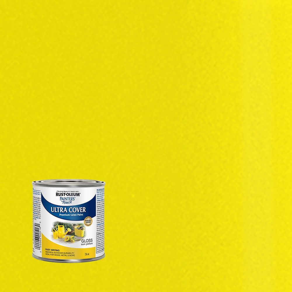 Painter's Touch Multi-Purpose Paint - Sun Yellow (236ml)