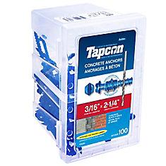 3/16 X 2 1/4 Hex Tapcon  Concrete Anchor