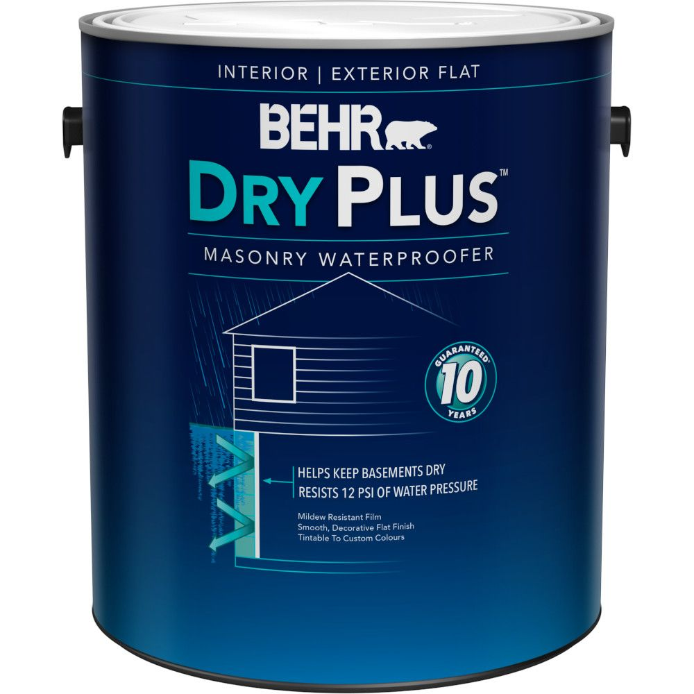 behr behr premium basement masonry waterproofer paint