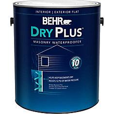 Behr Premium Basement & Masonry Waterproofer Paint, White, 3.73 L