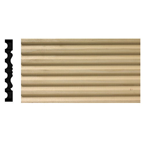 6 Inch Fluted Pilaster