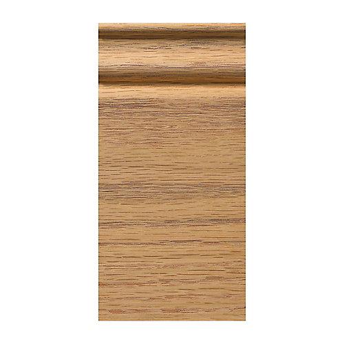 Oak Colonial Plinth Block 3-1/4 X 6-1/2  Inch.