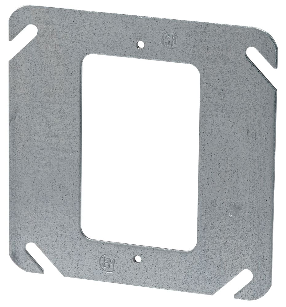 4 In. Square One Device Flat Cover