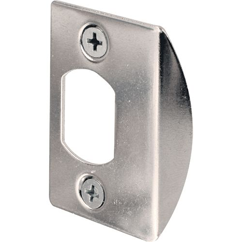 Prime-Line Chrome Dead Latch Jamb Strike