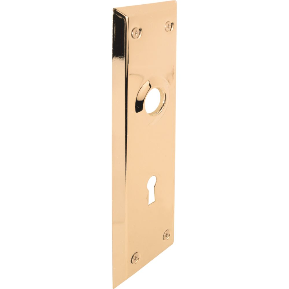 Prime Line Brass Door Plate The Home Depot Canada