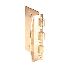 Brass Flip-Action Door Lock
