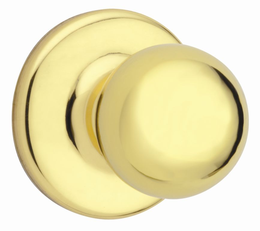 Yukon Bright Brass Passage Knobset