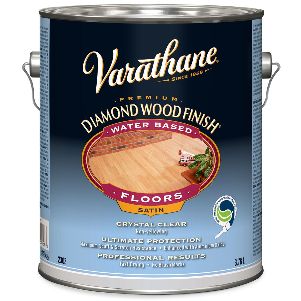 Diamond Wood Finish - Floor (Water, Satin) (3.78L)