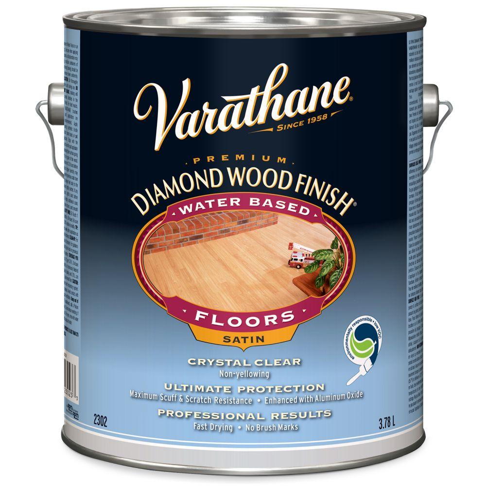 Diamond Wood Finish - Floor (Water, Satin) (3.78L)